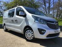 Vauxhall Vivaro 1.6 CDTI BiTurbo 120ps Crew Bus Double Cab