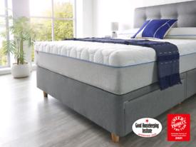 New vacuum sealed 6ft superking Rollo hybrid due slumberland mattress