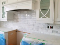 Kitchen BACK-SPLASH Installation $349 / GAZEBO Assembly $199 GTA