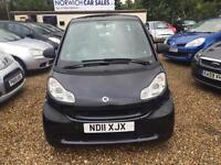 2011 Smart Fortwo 0.8 CDI Passion Softouch 2dr