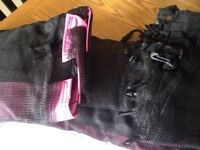 NEW pink 10' 8 pole replacement trampoline safety net