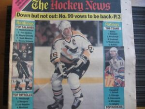LARGE LOT OF 52 OLDER 1980'S-90'S ISSUES OF THE HOCKEY NEWS
