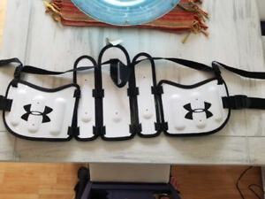 Under Armour  Lacrosse kidney pads.