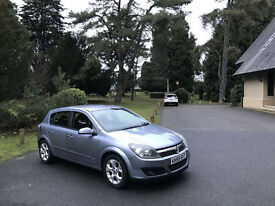 2005/55 Vauxhall Astra 1.6i 16v SXi 5 Door Hatchback Silver