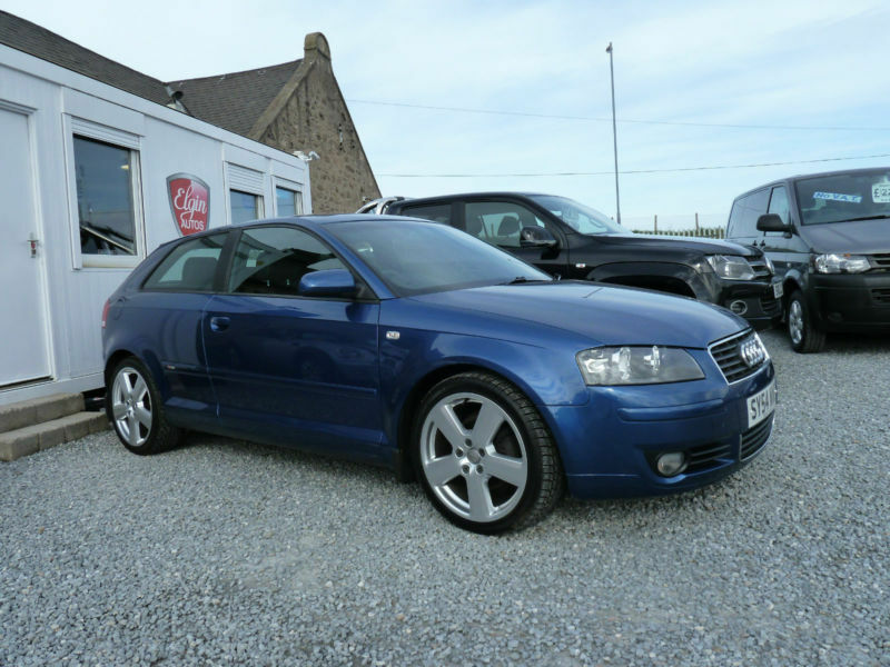 2004 54 audi a3 sport 2 0 tdi dsg 140 bhp in elgin. Black Bedroom Furniture Sets. Home Design Ideas