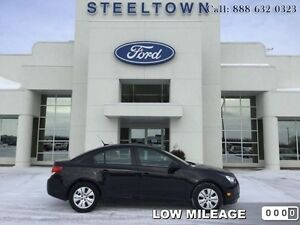 2014 Chevrolet Cruze LS SEDAN   - $77.45 B/W - Low Mileage