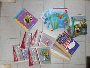 A Beka Grade 3 Teacher/Parent Kit + Some Student Texts