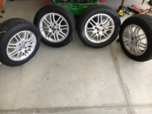 Ford Focus tires with rims
