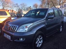 2005 TOYOTA LAND CRUISER 3.0 D 4D LC4 5dr Auto [5] DIESEL 7 SEATS