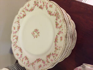 Bridal Rose Dishes