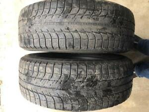 225/65/17 Michelin Latitude X-Ice Snow Tires Pair