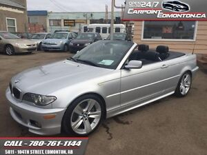 2005 BMW 3 Series 330 Ci M PACKAGE CONVERTIBLE MINT LOW KMS  - t