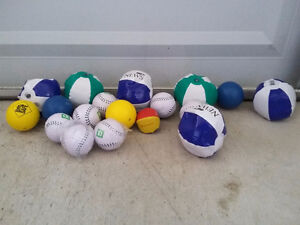 Lot of assorted inflatable balls soft toy balls London Ontario image 3