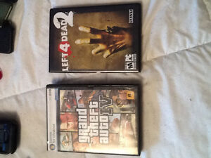 2 pc games left for dead 2/ grand theft auto IV
