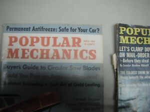 53 Popular Mechanics Magazines - 1965 -1971 - Bargain Price