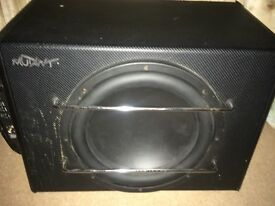 Sub woofer for car sub and amp