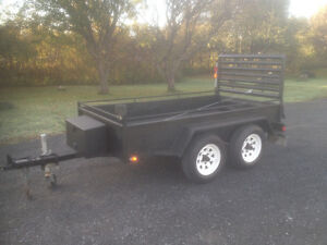 Tandem Trailer with Winch