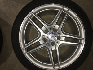 Mercedes AMG Summer Rims & Low Profile Summer Continental Tires
