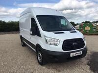 2014 64 FORD TRANSIT 350 LWB 2.2 TDCI 125BHP EURO 5 ONLY 18,000 MILES 1 OWNER