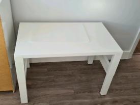 Ikea white pahl desk