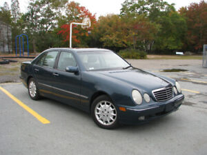 2001 Mercedes Benz E320 4Matic AWD