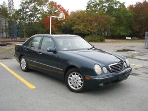 2001 Mercedes Benz E320 4Matic AWD