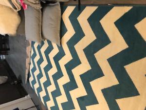 Large chevron carpet