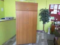 Wardrobe With Top Cupboard -Can Deliver For £19