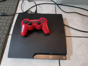 Ps3 Slim with cords and controller