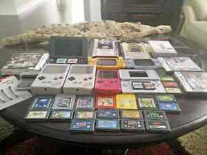 Huge Nintendo Portable devices and games.
