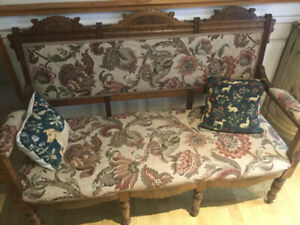 Beautiful antique bench/settee