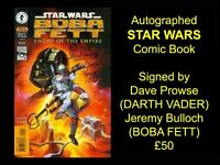 Autographed STAR WARS Comic Book
