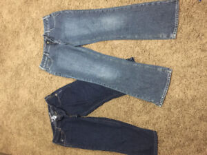 Silver jeans and capris size 33