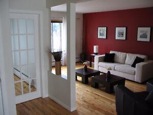 Montréal - spacieux, propre, lumineux, tranquille