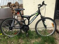 Less than a year old 21 speed mountain bike