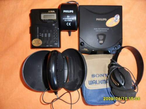 Lettore cd portatile philips + casse...