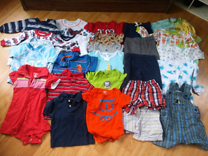 Boys summer clothing lot 9-12 month