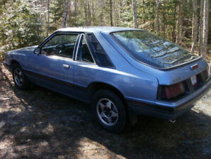 1986 Mercury Capri Coupe (2 door)