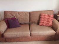 Large 3 seater sofa. Free.