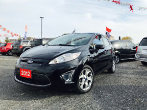 ▀▄▀▄▀▄▀► 2012 FORD FIESTA SES -- LOW KM  ◄▀▄▀▄▀▄▀