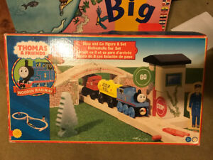 Thomas & Friends Stop and Go Figure 8 & 2 other wooden sets