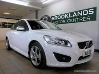 Volvo C30 1.6 D2 R-DESIGN 115PS [LEATHER, HEATED SEATS and 30 ROAD TAX]