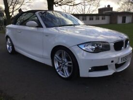 BMW 1 SERIES 118d M Sport (white) 2009