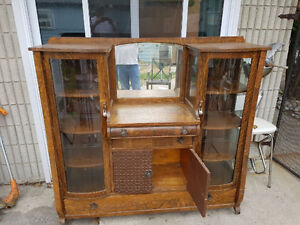 1920 ish antique china cabinet