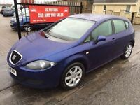 2006 SEAT LEON 1.6, 1 YEARS MOT, SERVICE HISTORY, NOT GOLF A3 MEGANE FOCUS ASTRA