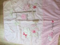 Chloe the cat cot bed quilt from next