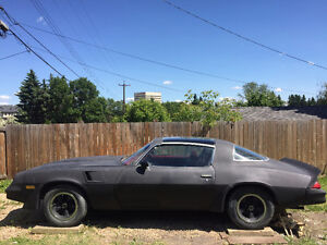 Z28 T-TOP 1980 REDUCED TO SELL