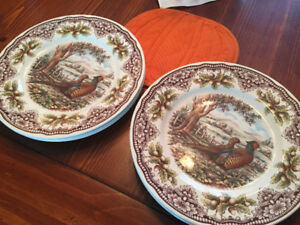 Vintage Thanksgiving Dishes/China