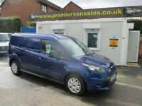 2015 15 FORD TRANSIT CONNECT 1.6 TURBO DIESEL 240 TREND LONG WHEEL BASE METAL
