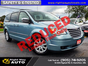 2010 Chrysler Town & Country Touring | DVD's | SAFETY & E-TESTED